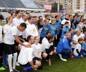Ignasi García va ser present a l'All Star Inclusive Football – Esport i Solidaritat
