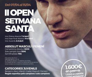 II OPEN DE SETMANA SANTA AL NOU TENNIS BELULLA