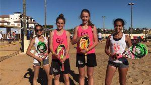 Sots campiones d'Espanya sub 14 - Anna Costa i Maria_Serracanta
