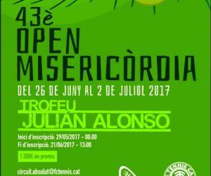 43è OPEN MISERICORDIA AL CT CANET