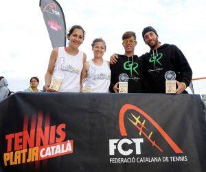 Gran Campionat de Catalunya de Tennis Platja!