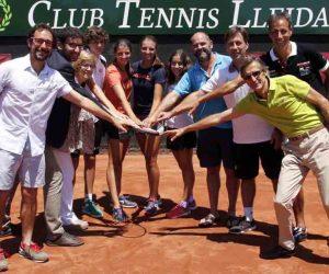 El CT Lleida reuneix el futur del tennis estatal