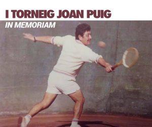"I TORNEIG JOAN PUIG ""IN MEMORIAM"""