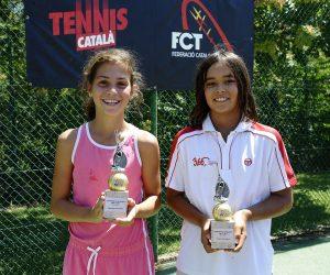 Garcia i Genís, campions de Catalunya Sub11