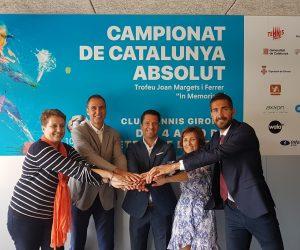 """PRESENTAT EL 110è CAMPIONAT DE CATALUNYA ABSOLUT DE TENNIS TROFEU JOAN MARGETS I FERRER """"In Memoriam"""""""