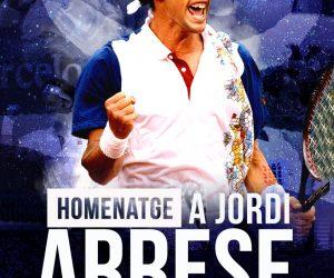HOMENATGE DEL TENNIS CATALÀ A JORDI ARRESE