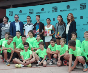 Max Alcalá i Alejandra Ferrer, campions de la prova inaugural del Mútua Madrid Open Sub 16, celebrada al Club Tennis Urgell