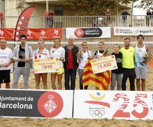 Espectacular Trofeu Internacional Ciutat de Barcelona de Tennis Platja