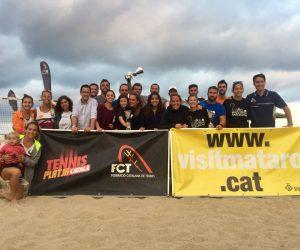 Magnífic Campionat de Catalunya per Equips de Tennis Platja
