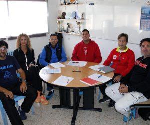 Reunió d'entrenadors de clubs amb la FCT Lleida per planificar la nova temporada del tennis lleidatà