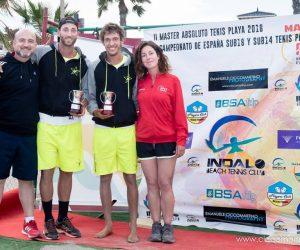 Espectacular paper del Tennis Platja Català al Màster Estatal