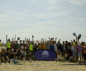 200 escolars de Barcelona han conegut el Tennis Platja