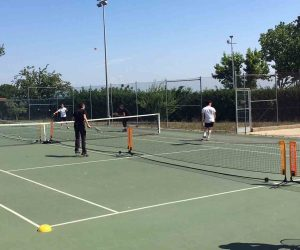 Completat amb èxit el curs de tennis de l'INEFC i la FCT Lleida a la Caparrella