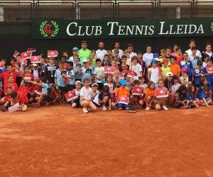 Supertennis de rècord al CT Lleida amb 110 participants i 12 clubs