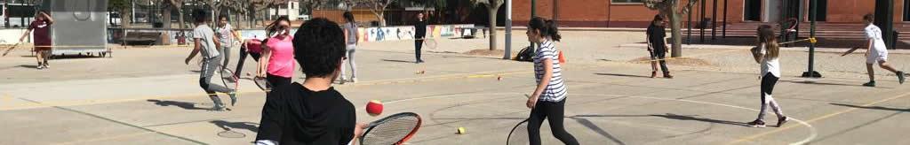 horitzontal tennis escolar