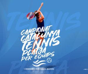 EL CAMPIONAT DE CATALUNYA DE TENNIS PLATJA PER EQUIPS, AL CLUB NÀUTIC MASNOU