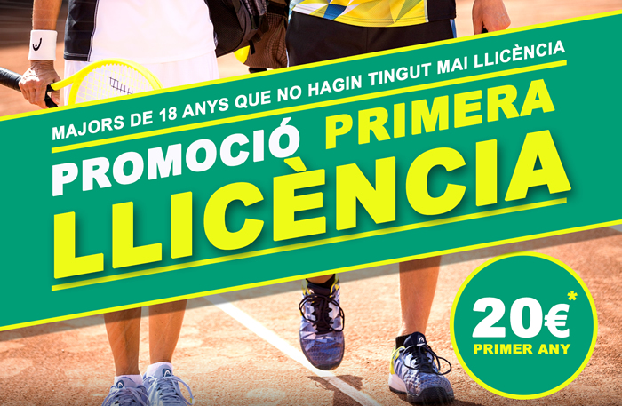 PROMOCIÓ PRIMERA LLICÈNCIA ABSOLUTA I SÈNIOR PELS SOCIS DELS CLUBS AFILIATS A LA FCT