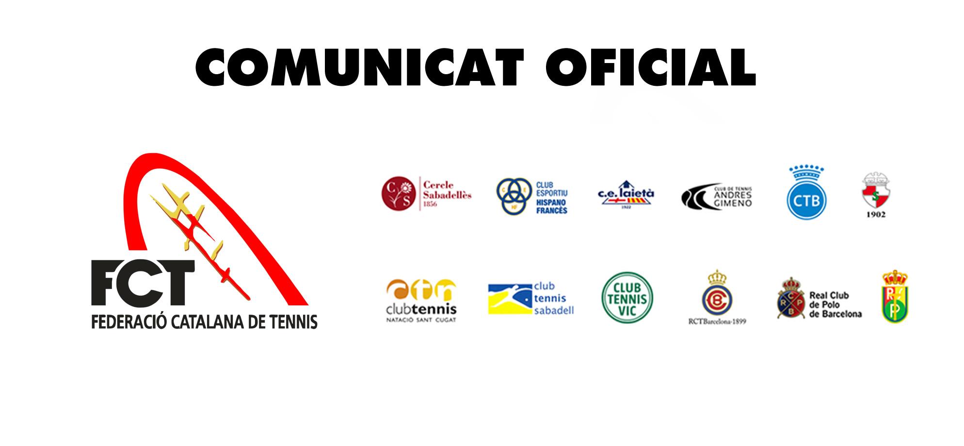 TANCAMENT INSTAL·LACIONS CLUBS DE CATALUNYA
