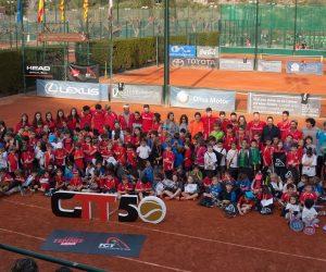 ESPECTACULAR JORNADA DE SUPERTENNIS 1 AL CLUB TENNIS TARRAGONA