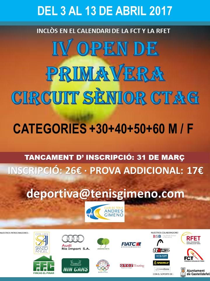 IV Open PRIMAVERA CT Andres GIMENO