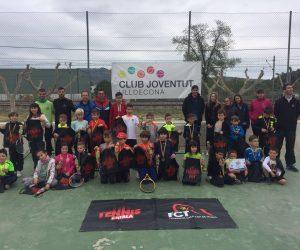 EL SUPERTENNIS 1 ARRIBA AL CLUB JOVENTUT ULLDECONA