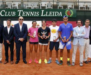 Nicolás Álvarez i Carlota Martínez, campions d'Espanya cadets a les pistes del CT Lleida