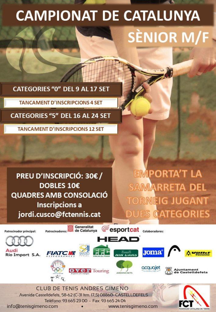 Campionat Catalunya Senior 0 i 5