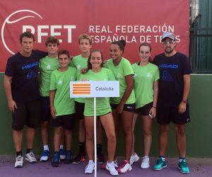 Claudia Borbón, semifinalista amb Catalunya al Campionat d'Espanya infantil