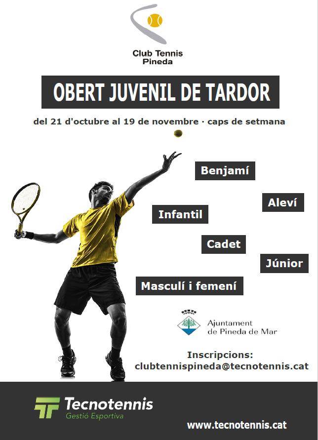 Circuit Juvenil Tardor Tennis Pineda