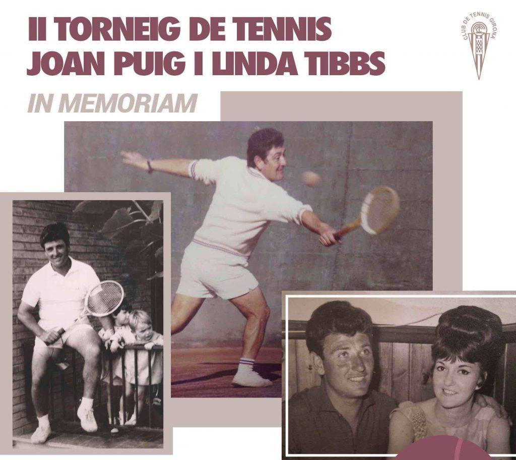 II TORNEIG DE TENNIS JOAN PUIG I LINDA TIBBS