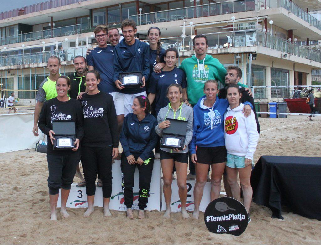 Xifres de rècord al Campionat de Catalunya per Equips de Tennis Platja