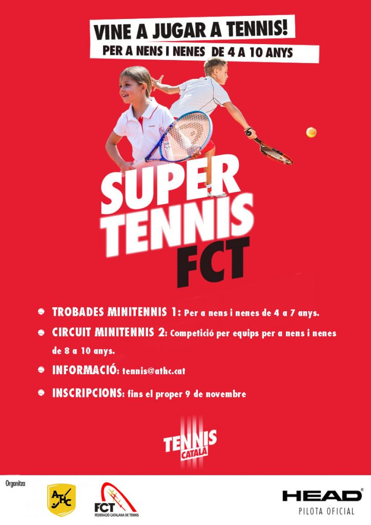 Poster Minitennis FCT_ATHC