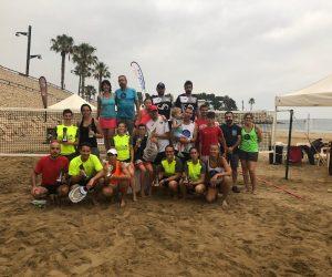 CASAS/RODRIGUEZ i ZALESAKOVA/GAMELL, CAMPIONS DEL IX TORNEIG CIUTAT DE L'AMPOLLA DE TENNIS PLATJA