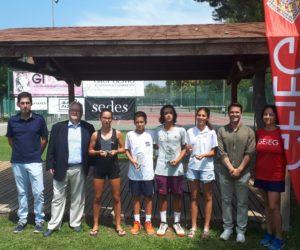 MARTINA GENIS I LUIS GARCÍA, CAMPIONS DE CATALUNYA S13 AL GEIEG