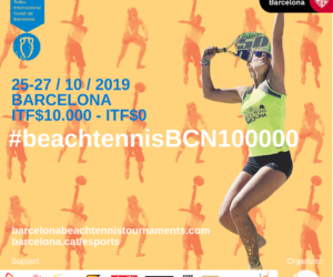 EL BEACH TENNIS BARCELONA, ORGANITZA LA 12ena EDICIÓ DEL TICB DE TENNIS PLATJA