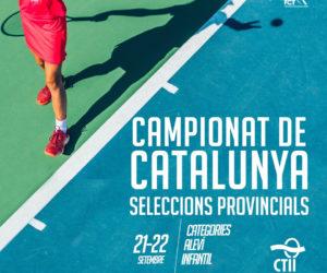 EL SEGON CAMPIONAT DE CATALUNYA DE SELECCIONS PROVINCIALS ES CELEBRARÀ AL CLUB DE TENNIS LLAFRANC