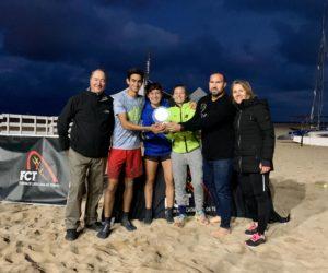EL BEACH TENNIS BARCELONA, CAMPIÓ DE CATALUNYA DE TENNIS PLATJA PER EQUIPS DE CLUB