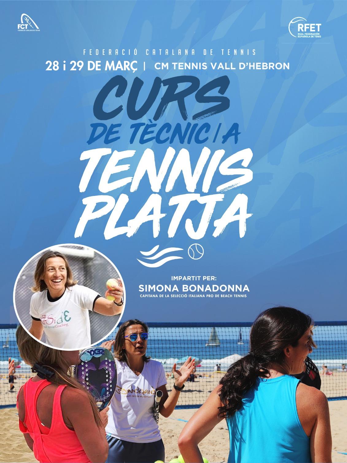 Curs Tècnic_a Tennis Platja