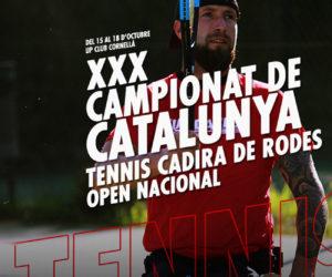 XXX CAMPIONAT DE CATALUNYA DE TENNIS EN CADIRA DE RODES
