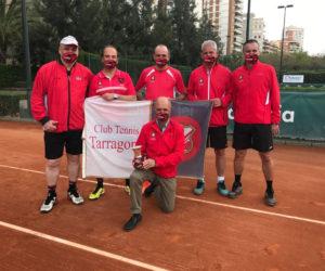 L'EQUIP SÈNIOR +50 MASCULÍ DEL CLUB TENNIS TARRAGONA, NOU CAMPIÓ D'ESPANYA